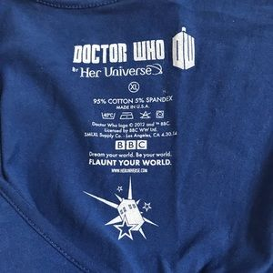 Her Universe Dresses - Her Universe Doctor Who Tardis Dress